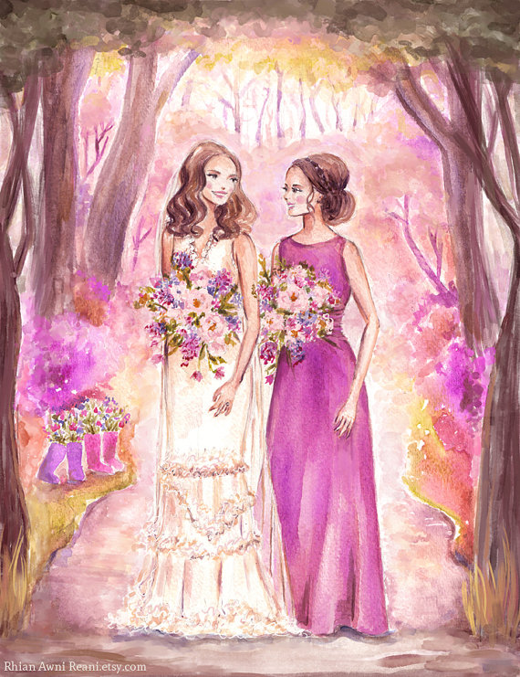 """26 """"Be My Bridesmaid"""" Ideas from A to Z"""