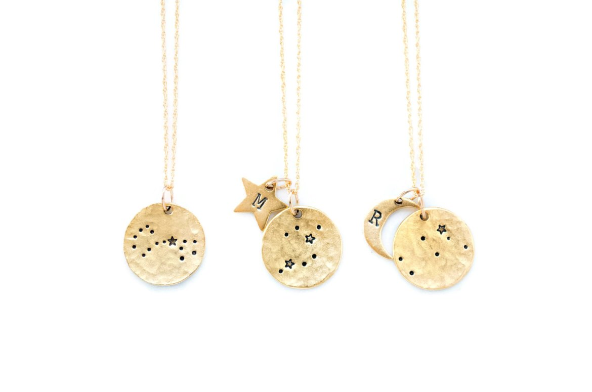 constellation necklaces for bridesmaids gifts | http://etsy.me/2lk31hg