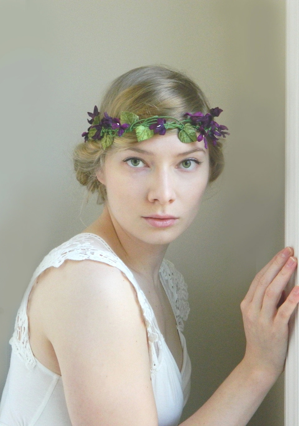 nature inspired bridal accessories by violette and iris