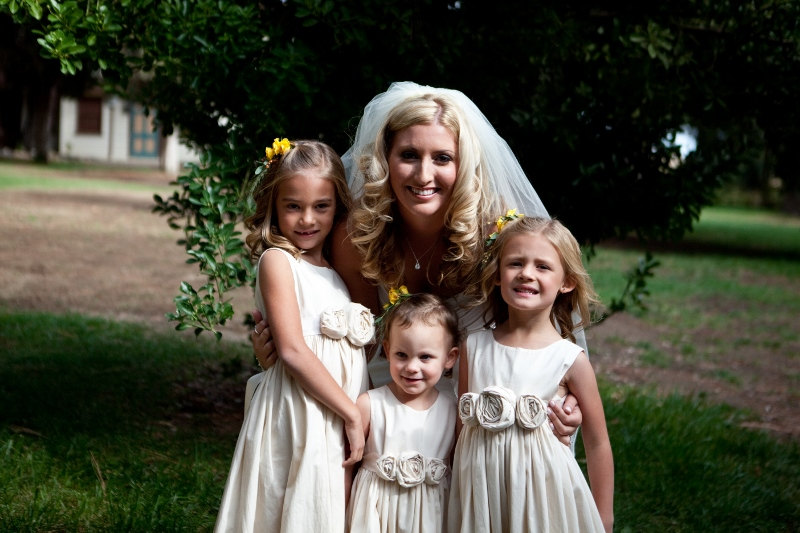 rustic flower girl dresses group