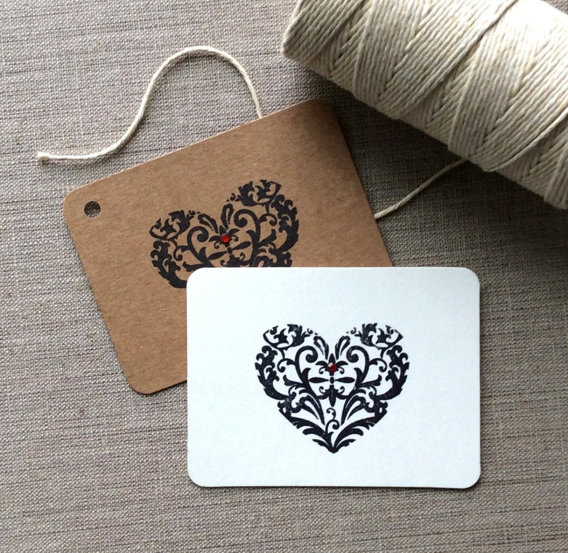 Vintage Inspired Favor Tags   by Beth and Olivia