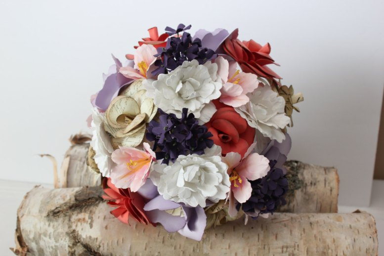 paper bouquet for weddings