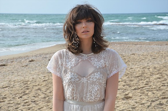 Bohemian Lace Wedding Dresses by Barzelai