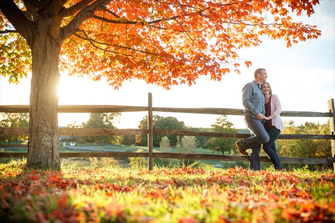 Butler Photography engagement session| engagement photography by Butler Photography LLC.| Love Fall Weddings? See this Somers, CT Engagement Session - http://emmalinebride.com/real-weddings/love-the-fall-weddings-see-this-somers-ct-engagement-session/