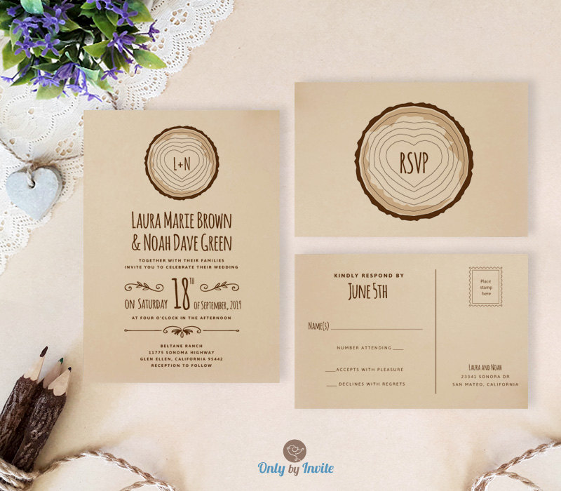 Wedding Invite Response Cards Rent Interpretomics Co