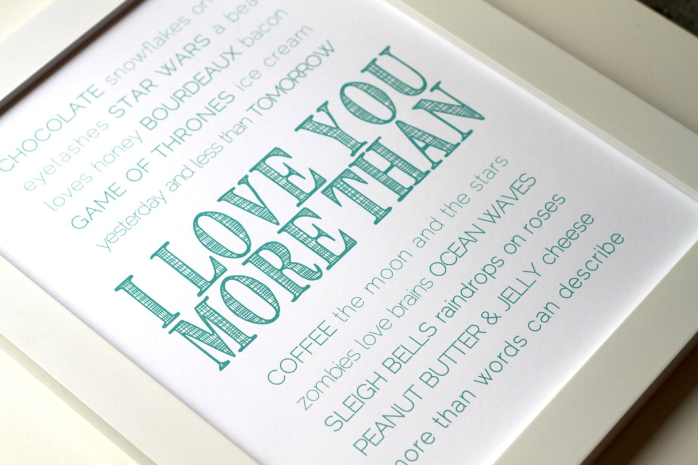 love you more than print