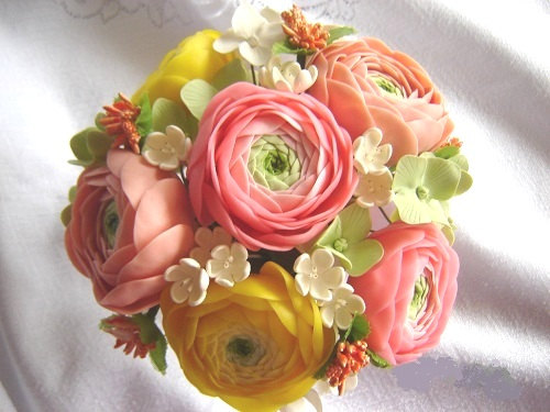 clay bouquet 1