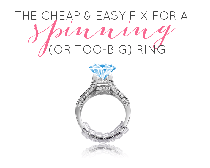 How to Keep Wedding Ring from Spinning The 1 Cheap Easy Fix