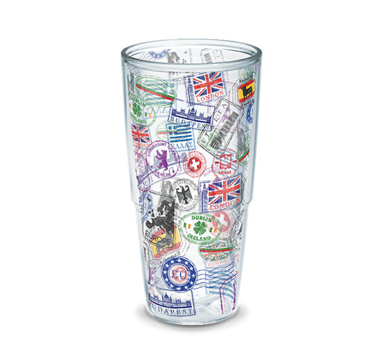 personalized tumblers for bridesmaids, groomsmen, bride and groom, and more | by Tervis | http://emmalinebride.com/how-to/personalized-tumblers-for-bridesmaids