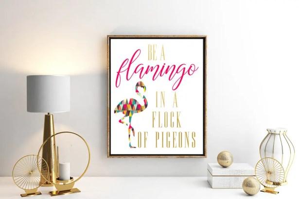 be a flamingo by ErinDianeCo
