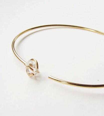 herkimer diamond necklace / bracelet  via http://etsy.me/2teyINF
