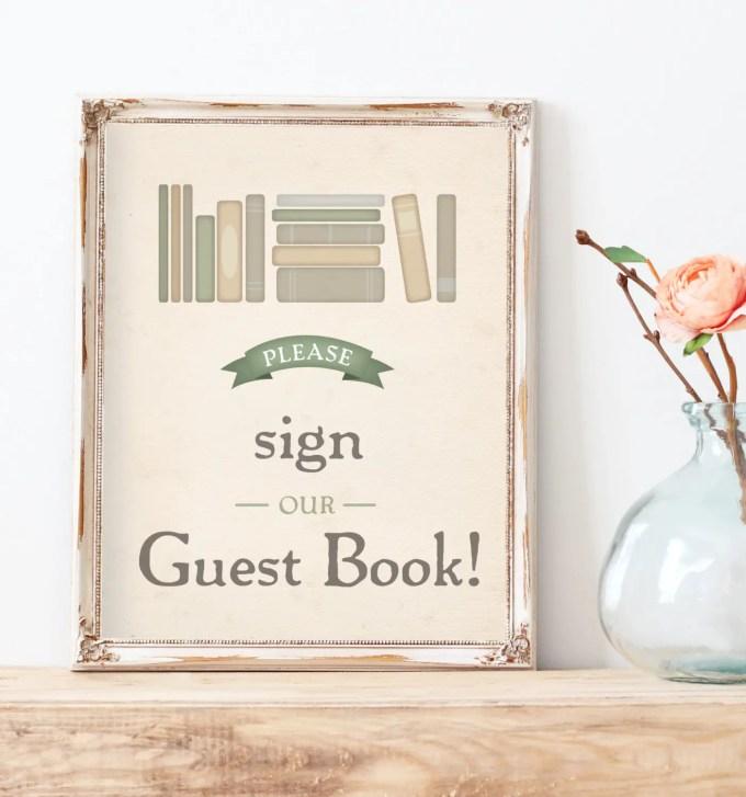 book themed wedding ideas