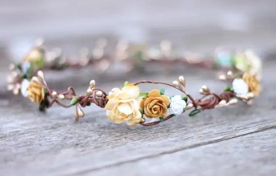 hair crown - fall wedding ideas on a budget