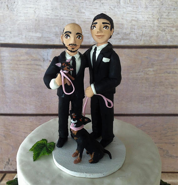 75 (Fun!) + Most Unique Wedding Cake Toppers