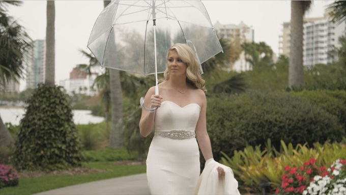 Erin + Chris' Marie Selby Gardens Wedding Film (Sarasota wedding videographer) - http://emmalinebride.com/real-weddings/marie-selby-gardens-wedding-film | Baby Blue Film - Florida Wedding Videographer