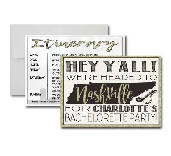 Nashville Bachelorette Party Ideas Emmaline Bride