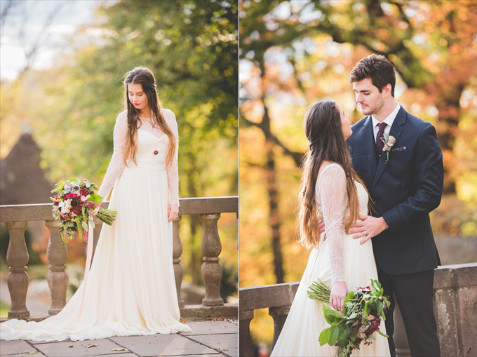 A Philadelphia Open Air Wedding that You'll Love! (Styled Shoot) - http://emmalinebride.com/real-weddings/philadelphia-open-air-wedding-styled-shoot | BG Productions Photography & Videography
