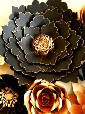 giant paper flower template