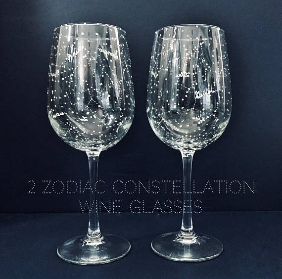 constellation glassware