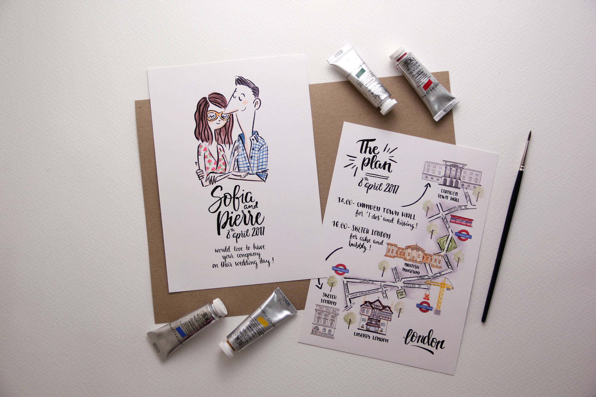 75 Fun Unique Wedding Invitations for Cool Couples Emmaline Bride