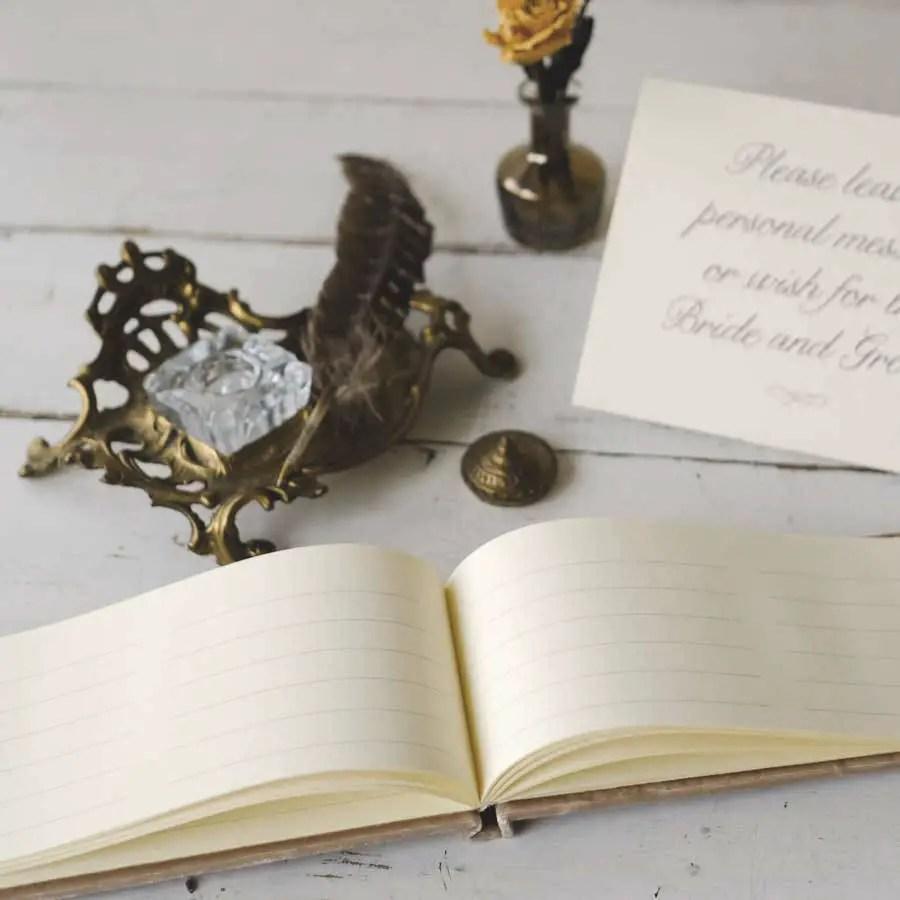 velvet guest books