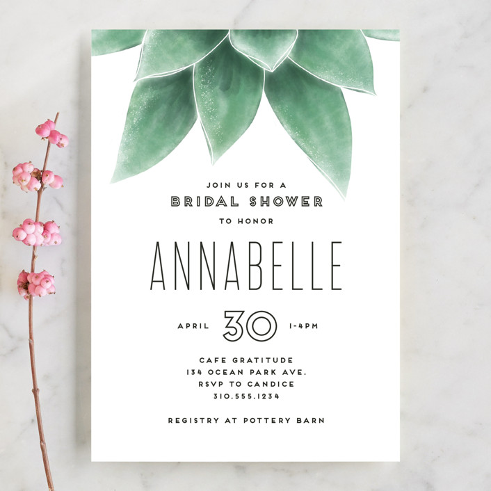 themed bridal shower invitations