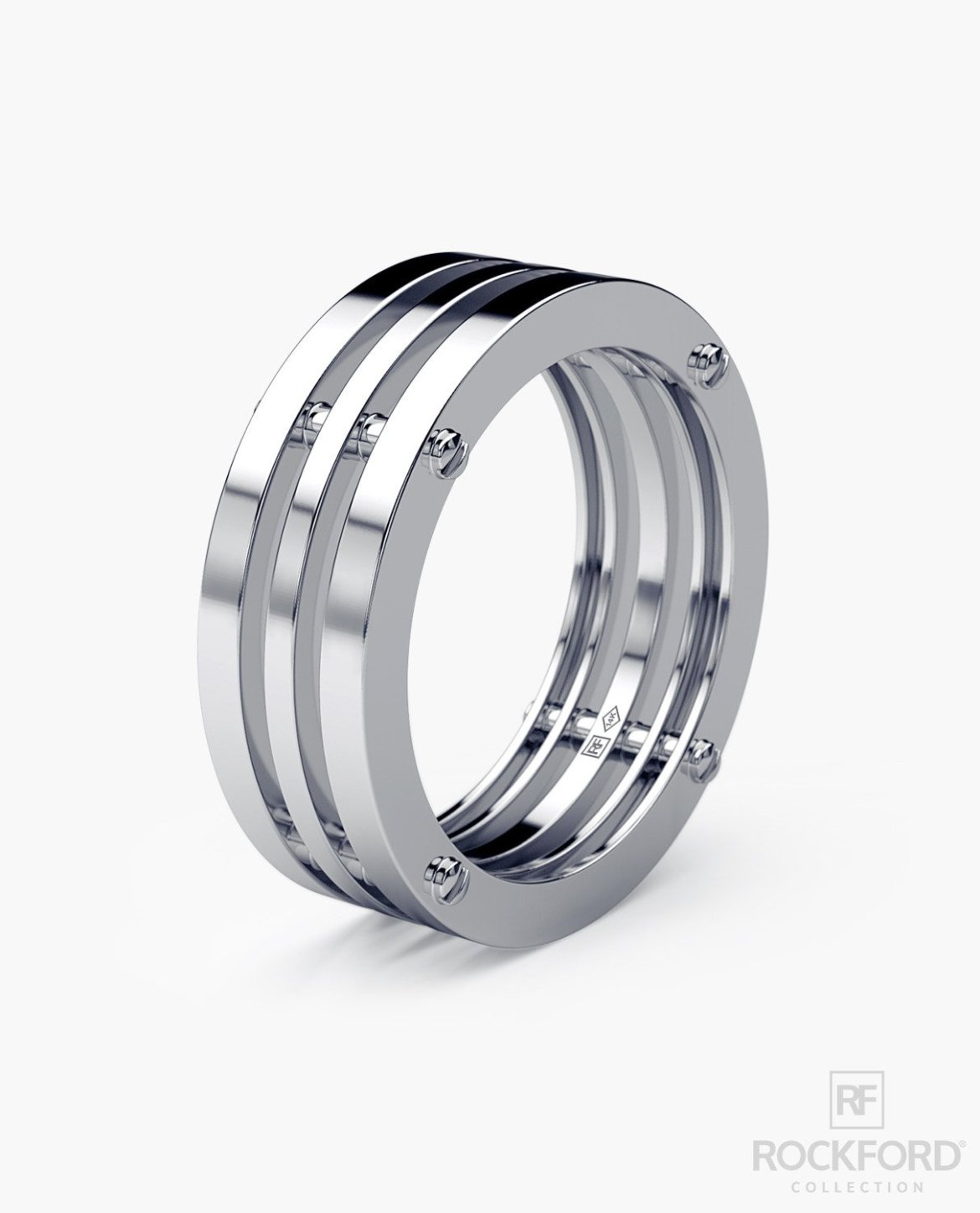 Strikingly Unique Mens Wedding Bands | Emmaline Bride® Weddings