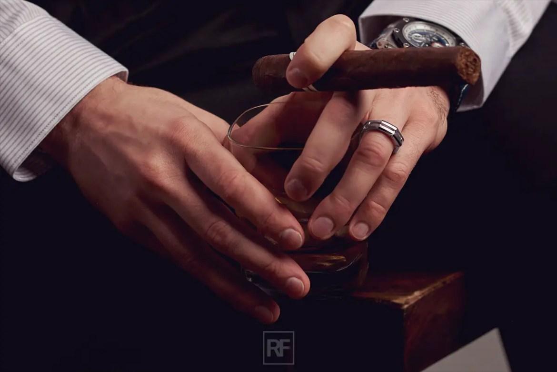 unique mens wedding bands