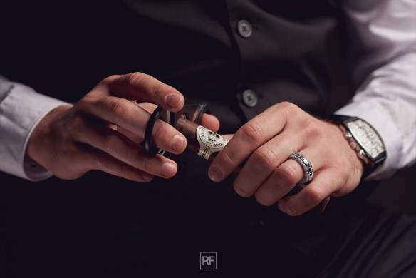 Strikingly Unique Men's Wedding Bands
