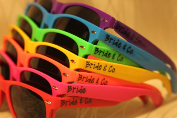 personalized sunglasses for wedding