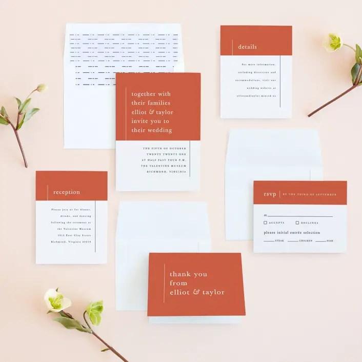 12 Simple Wedding Invitations Inexpensive Too Emmaline Bride