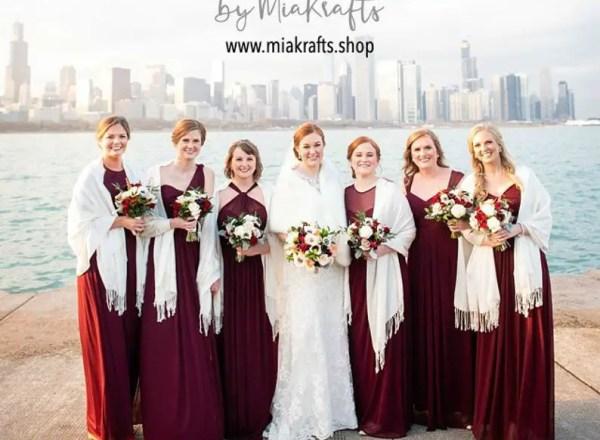 where to buy bridesmaid pashminas