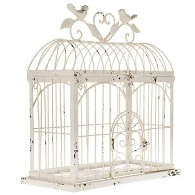 wedding birdcage card holder