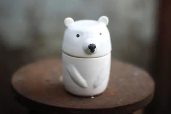 cute animal jars