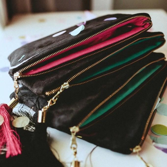 bridesmaid bags by sandra smith