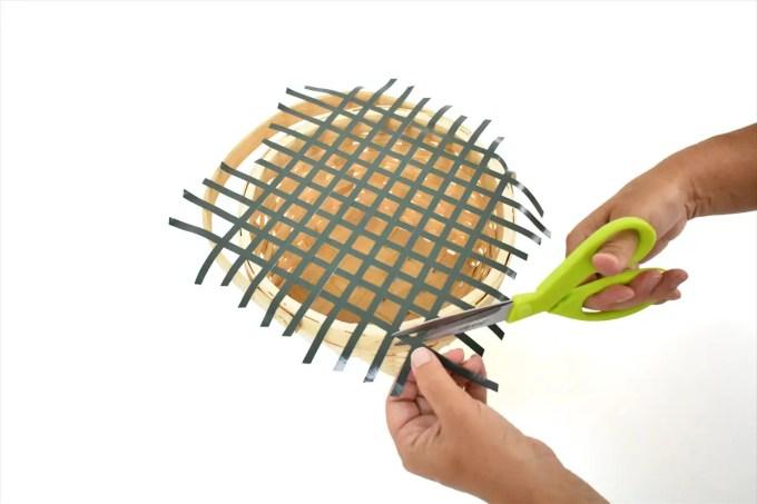 flower basket diy tutorial