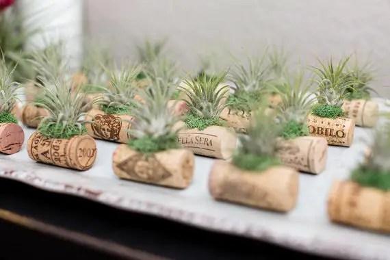 cork magnets - wine favors