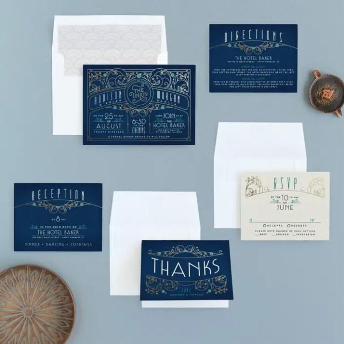 ordering wedding invitations