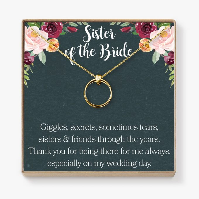 maid of honor gift for sister