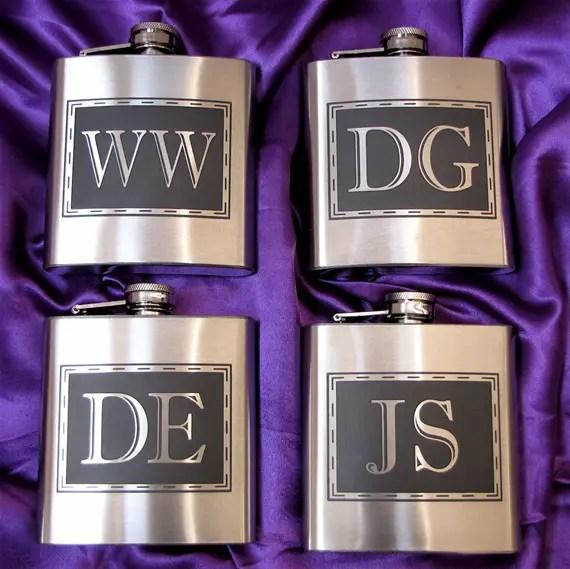 personalized groomsmen flasks - Groomsmen Gift Ideas