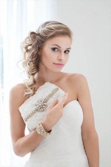 Bridal Clutch Purse by Cloe Noel - Photo by La Candella Weddings - Photo 3 -