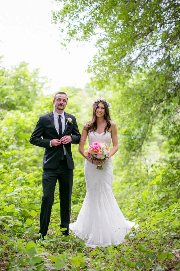 The Happy Couple | Real Weddings Brooklyn Arts Center | Photo: Eric Boneske