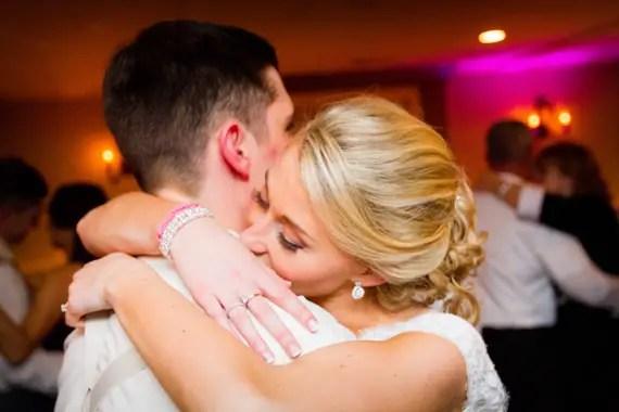 Wedding of Caitlin & Ben at The Villa - bride and groom dancing