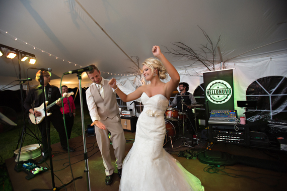 KimAnne Photography - iowa backyard wedding - bride-groom-dance