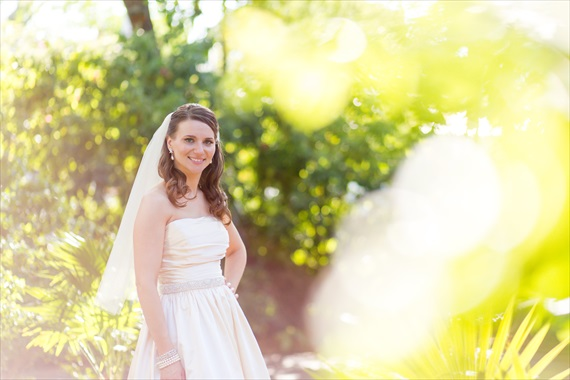 Filda Konec Photography - bride smiling in Key West