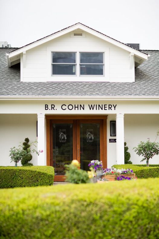 Winery Styled Wedding Shoot - B.R. Cohn Winery - left gallery