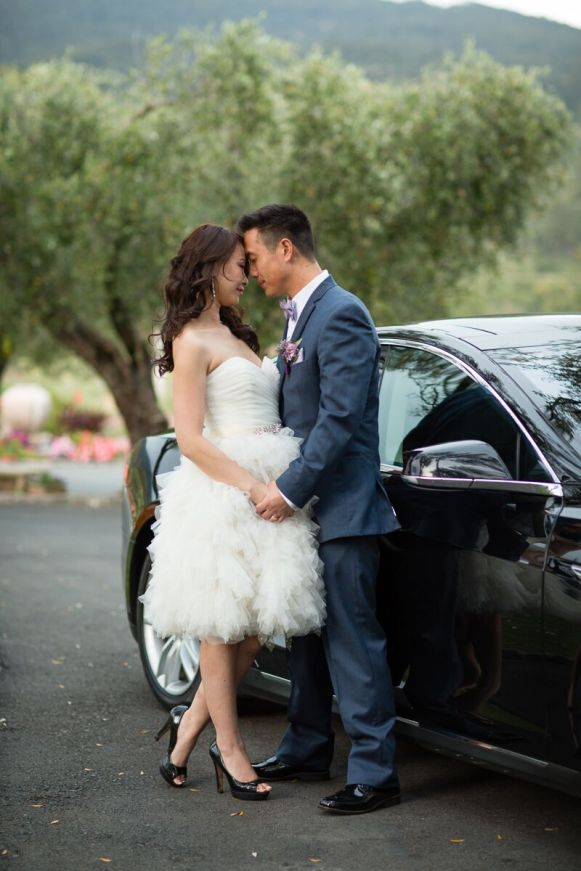 Winery Styled Wedding Shoot - The Bride Wearing Reception Dress