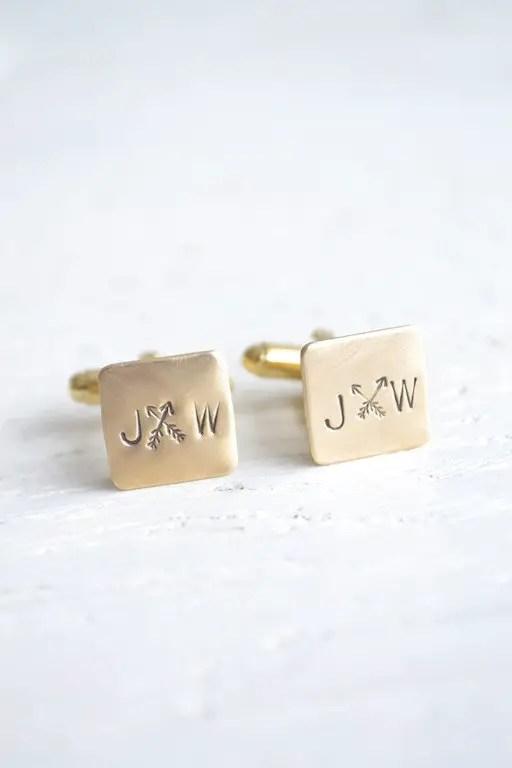 arrow wedding cufflinks