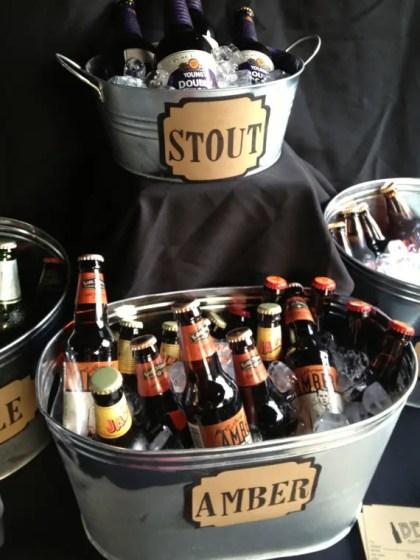 beer tasting signs by down emery lane