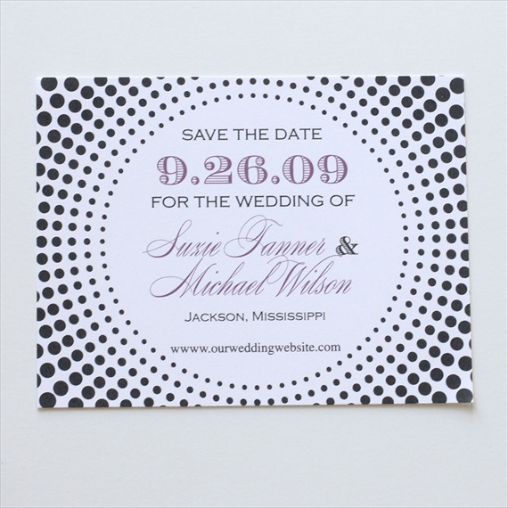 Wedding Stationery Giveaway! (save the date: blush paperie)